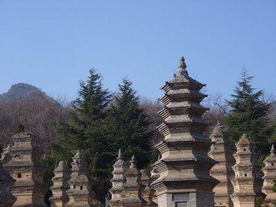 Pagoda Forest, shaolin temple!