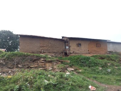 Typical House in Nandi County countryside