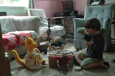 Teddy bears tea party