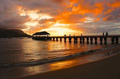 Hanalei Pier Kauai