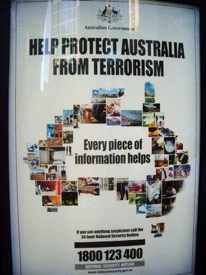 Help Stop Terrorism!