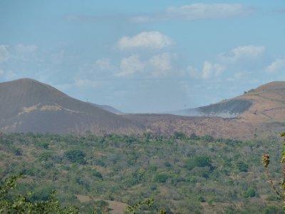 cràter de vulcáno