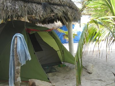 camping in Playa del Carmen