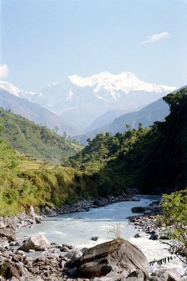 Manaslu II (7879 m) & Himachal Chuli (7893 m)