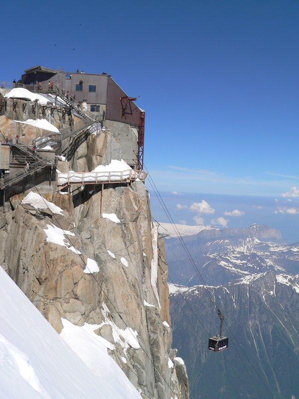 Cable Car Mont Blanc