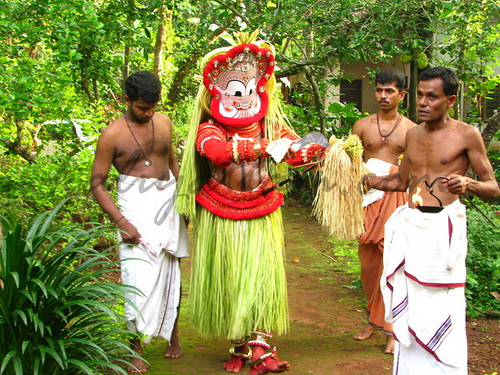 Theyyam a Focal Art Dance