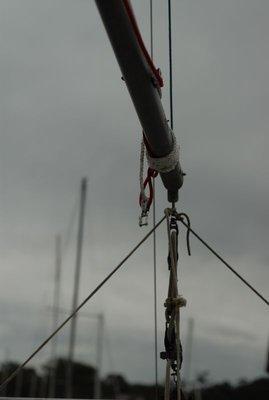 The Grey Sky's Mast
