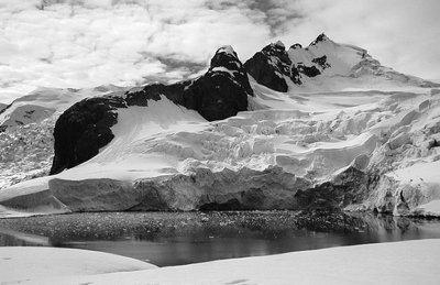 Paradise Harbor, Antarctica: Glacier