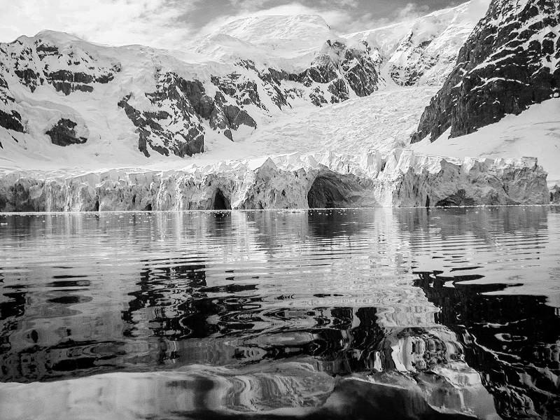 Paradise Harbor, Antarctica: Ice Tunnels