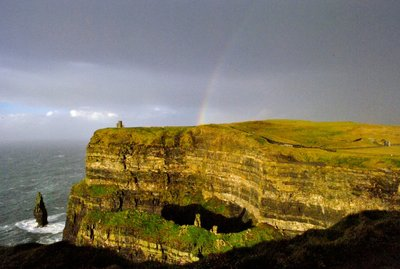 The Pot of Gold at the Cliffs of Moher