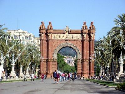 Espanha, Barcelona - Arc de Triomf