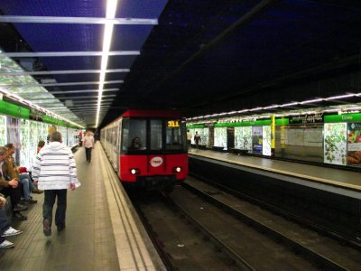 Espanha, Barcelona - Estação de Metro de Liceu