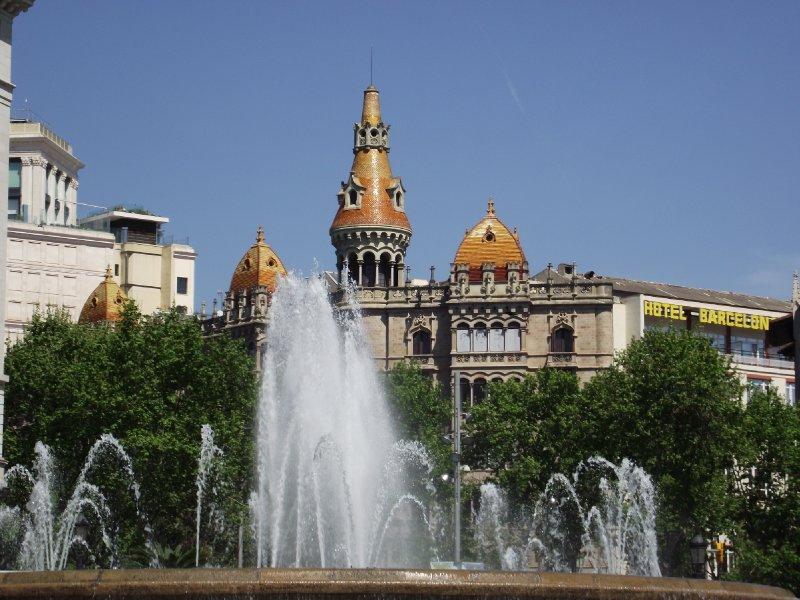Espanha, Barcelona - Plaça de Catalunya