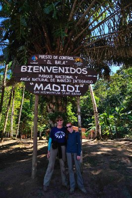 Official entrance to Madidi National Park