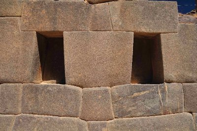 Inca Stones near the temple of the Sun