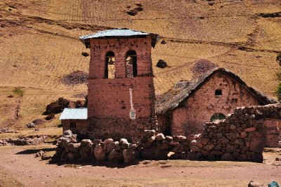 Small church in Huacahuasi