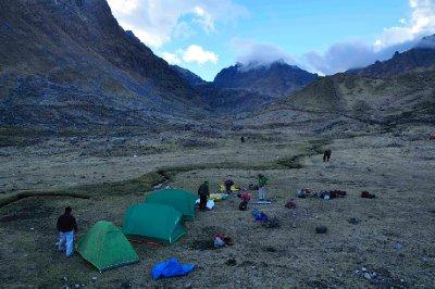 2nd camp above Huacahuasi
