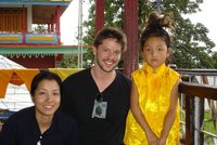 Eri, Chris and Chator Rimpoche