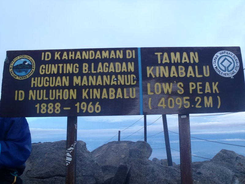 Mount Kinabalu Summit