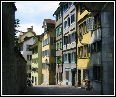 The quiet charms of Zurich
