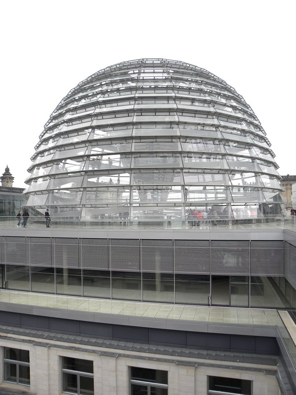 Parliament dome