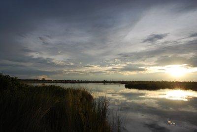 Sunset in the Okovango Delta
