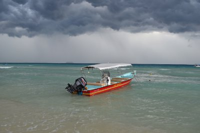 Boat and a storm
