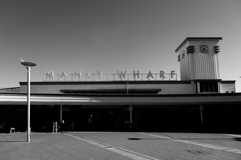 the MANLY wharf