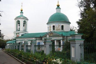 列寧山上的教堂