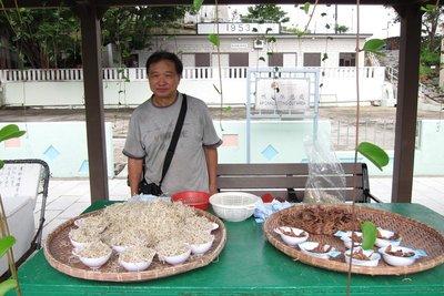 鴨洲上賣茶粿的叔叔