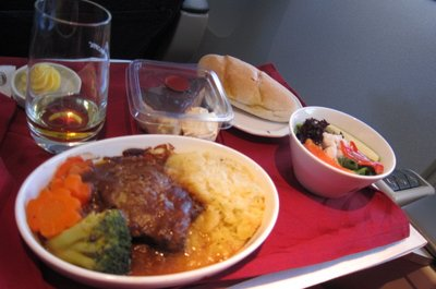 Lunch in Air Pacific