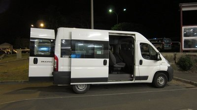 Mini Bus to City-Noumea