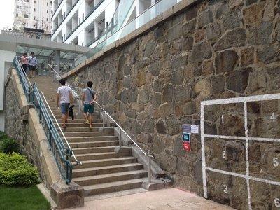 上百年歷史的樓梯