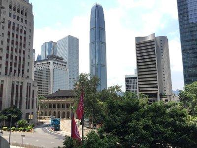 可拍攝前立法會大樓 、皇后像廣場等