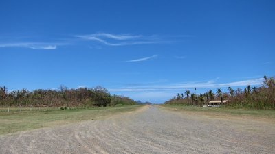 Airstrip in Mana Island