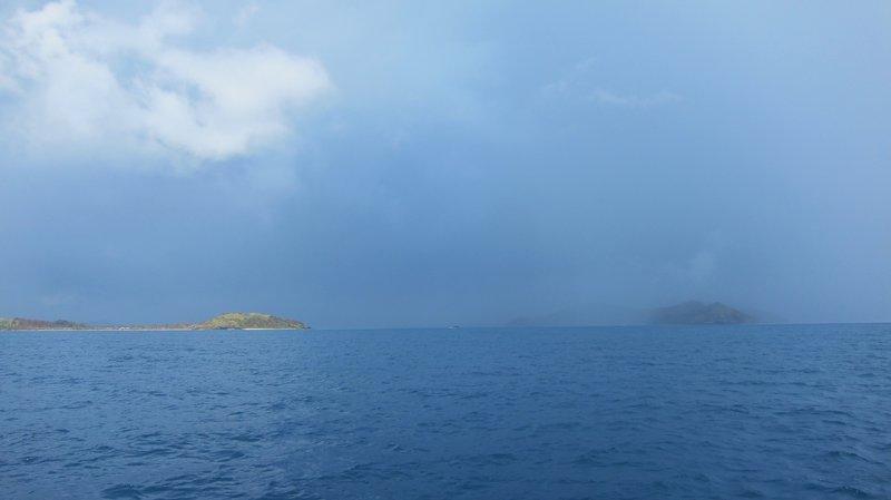 Strom when sailing