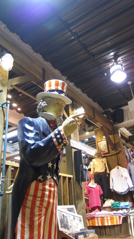 Shop in American Village, Okinawa