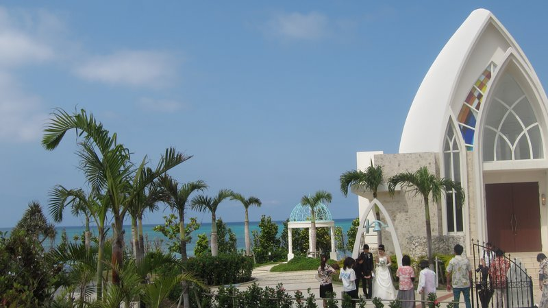 Aquagrace Chapel, Yomitan, Okinawa