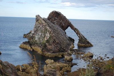 Portknockie and the Bow Fiddle Rock