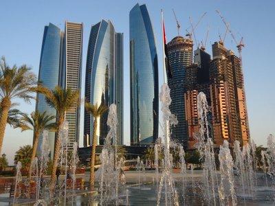 wall of glass ... Jumeirah Etihad Towers etc.