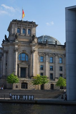 Reichstag from the outside