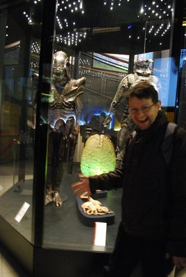 Museo Nz del Cinema - ignore the hammy acting for a minute, and you might recognise some Alien props