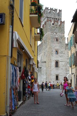 Sirmione ... Scaliger Castle (13th century)