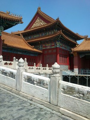 Detail from the Forbidden City