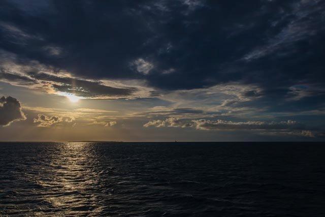 Sunset near Kendwa Beach