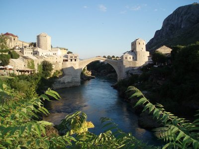 The Stari Most in Mostar Bosnia and Herzegovina