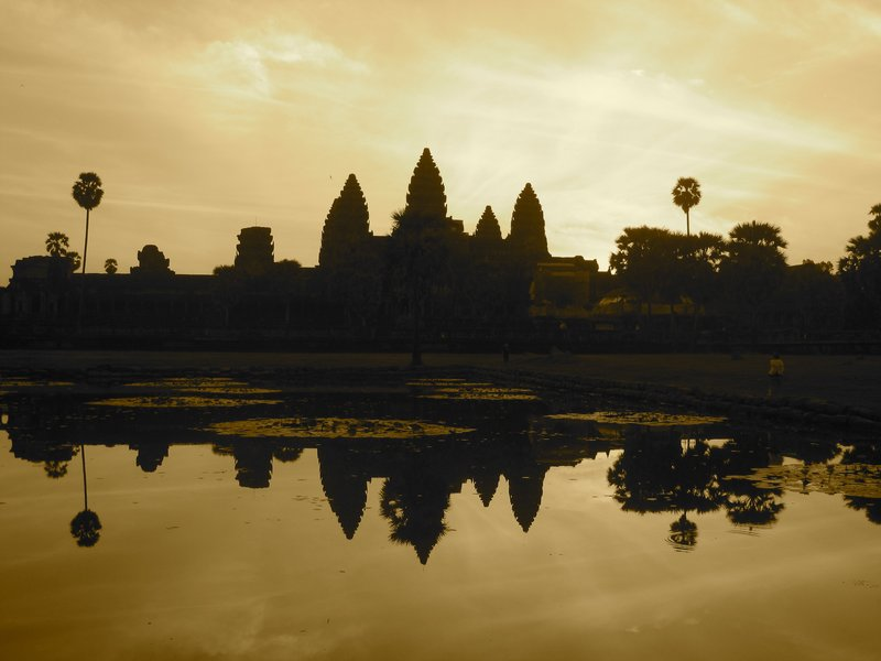 Angkor Watt at Sunrise