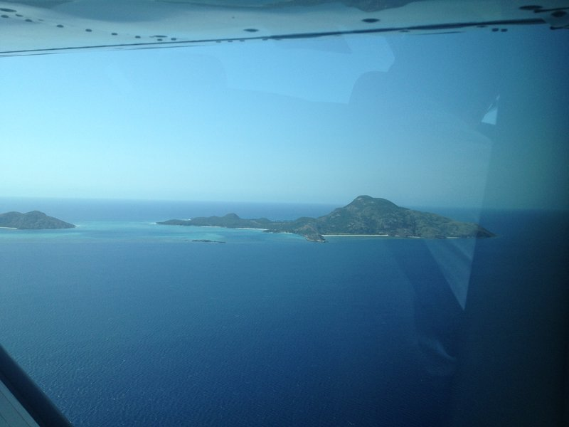 Flight to Lizard Island
