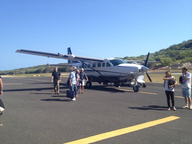 Lizard Island flight