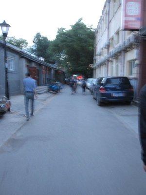 alleyway in Beijing